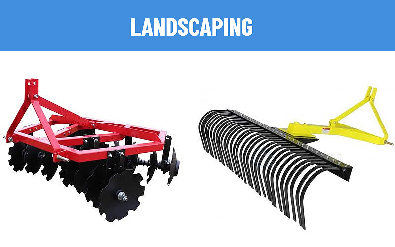 Shop 3-Point Tractor Landscaping Attachments at Lowest Price