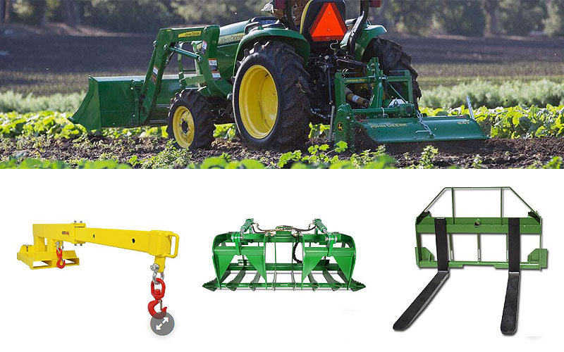 Up to 15% Off on John Deere Compatible Tractor Attachments