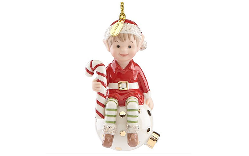 Lenox 2018 Eli the Elf Ornament
