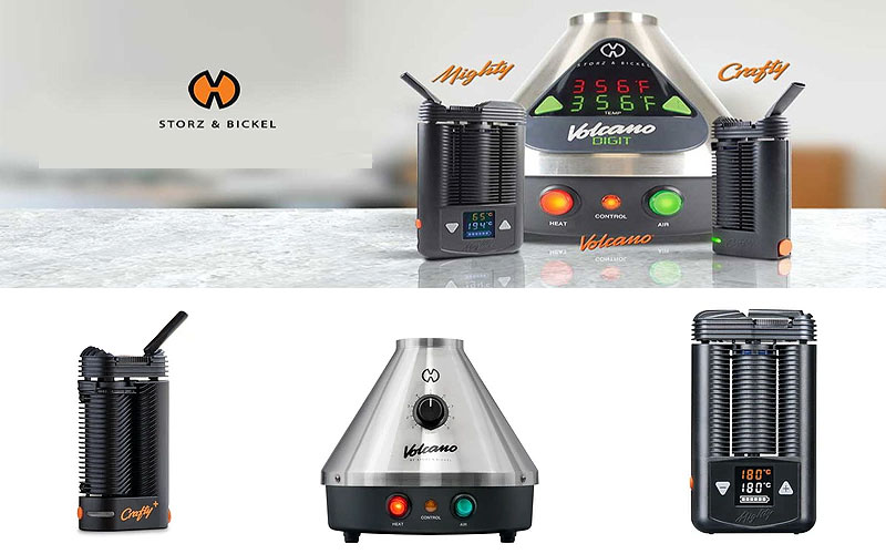 Storz & Bickel Vaporizers and Accessories on Sale Prices