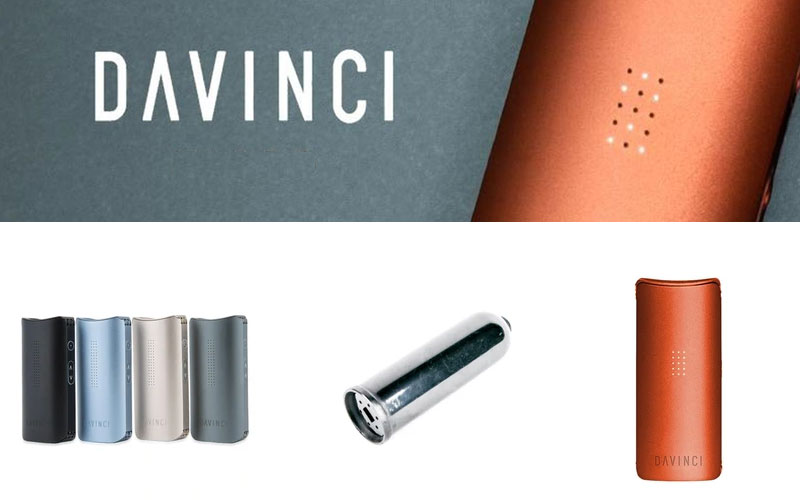 Up to 40% Off on DaVinci Vaporizers & Accessories