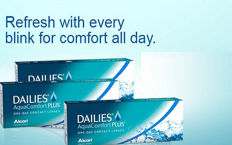 Up to 60% Off on Dailies Contact Lenses Online
