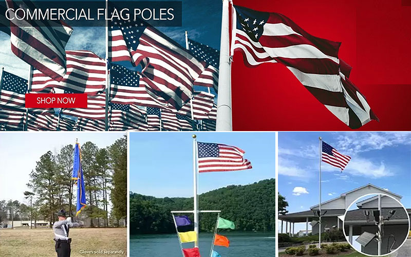 Shop Online Flagpoles & Sets on Sale Prices