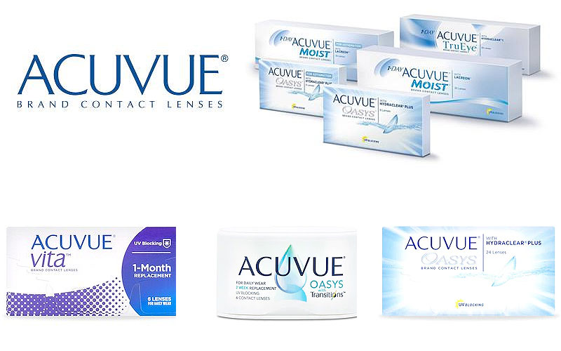 Labor Day Sale! Up to 15% Off on Acuvue Contact Lenses