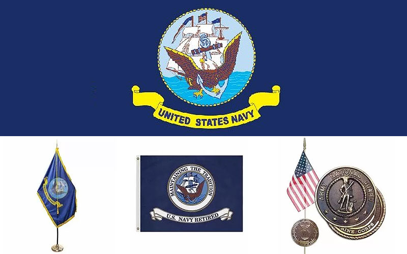 Shop US Navy Flags at Discount Price