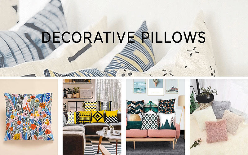 Buy Online Decorative Pillows on Sale Prices