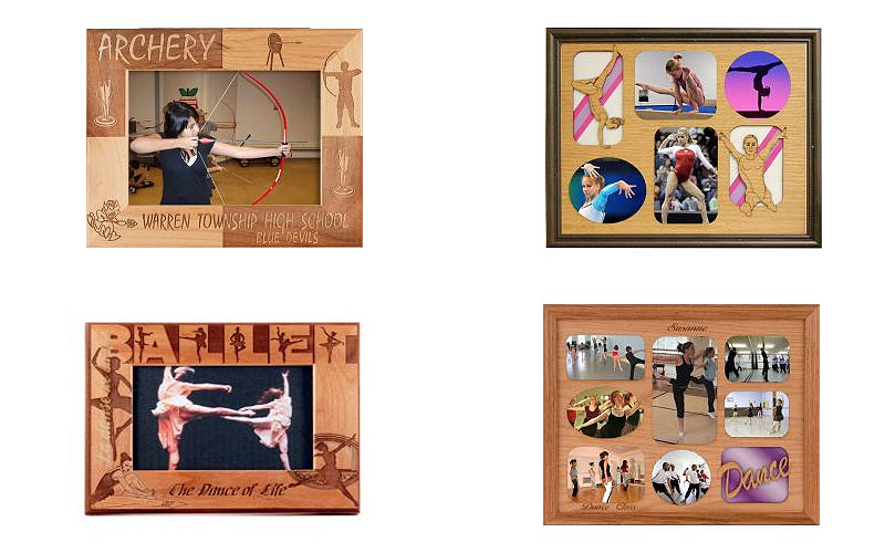 Personalized Indoor Sports Photo Frames at Discount Prices