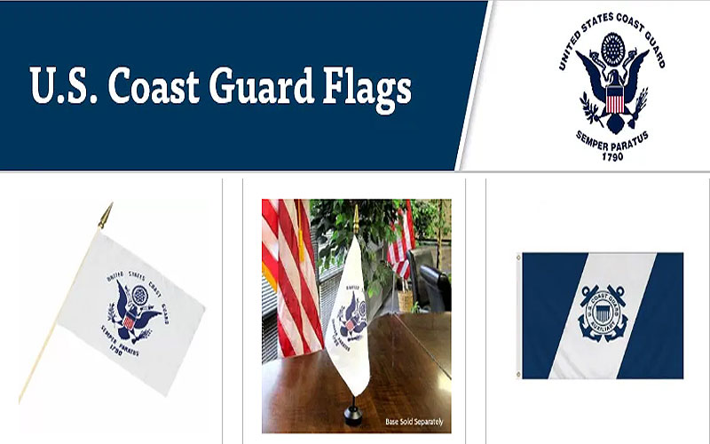 Shop for Coast Guard Flags at Discount Prices