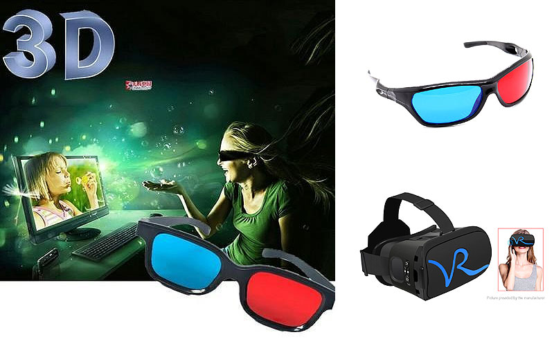 Shop 3D Video Glasses Online at Discount Prices