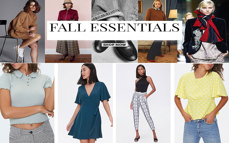 Fall Sale 2020: Up to 75% Off on Women's Fashion Clothing
