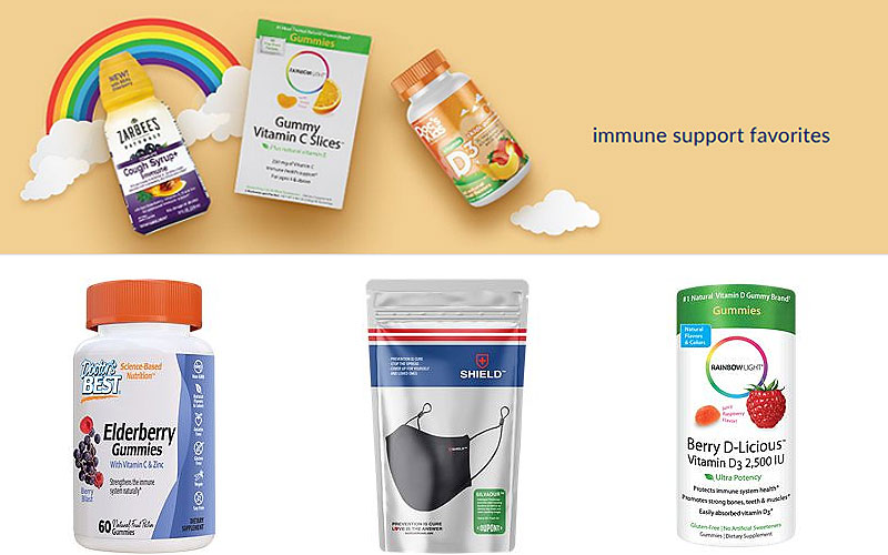 Up to 20% Off on Immune Support Supplements