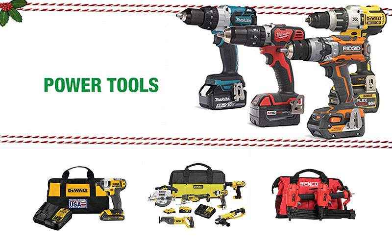 Black Friday 2020: Up to 50% Off on Power Tools & Equipment