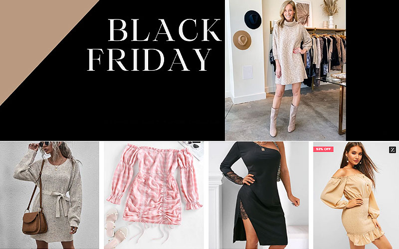 Black Friday! Up to 50% Off on Women's Dresses Online
