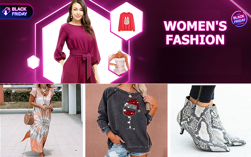 Black Friday 2020: Up to 50% Off on Trendy Women's Clothing & Shoes