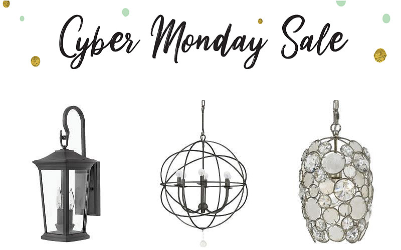 Cyber Monday Sale: Up to 25% Off on All Your Lighting Needs
