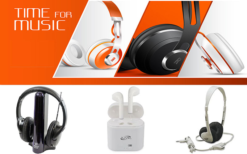 Up to 25% Off on Wired & Bluetooth Headphones Online