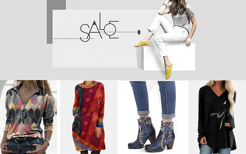 Green Monday 2020: Up to 50% Off on Women's Fashion Clothing & Shoes
