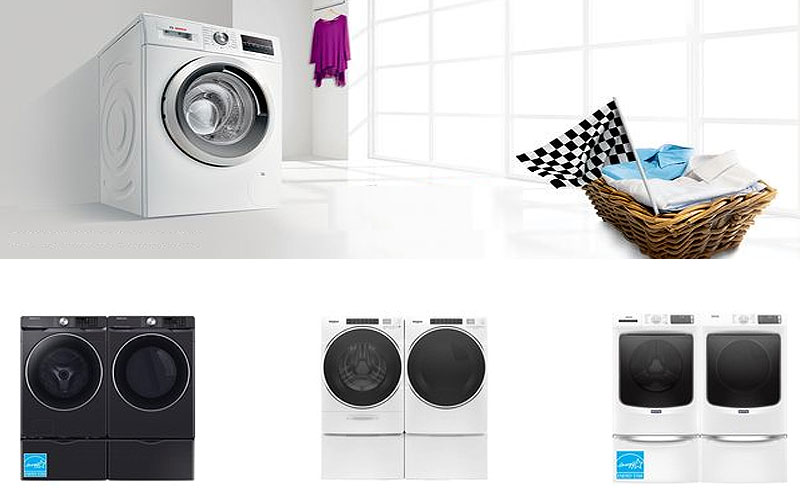 Up to 35% Off on Washing Machines & Dryer Sets