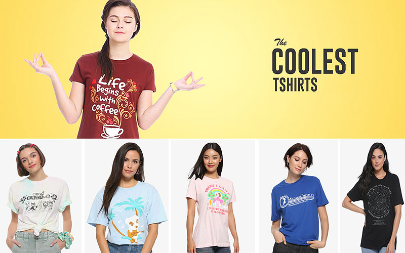 Up to 30% Off on Trendy Women's T-Shirts Online