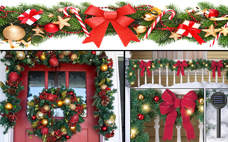 Up to 45% Off on Christmas Garlands Under $25 & $50