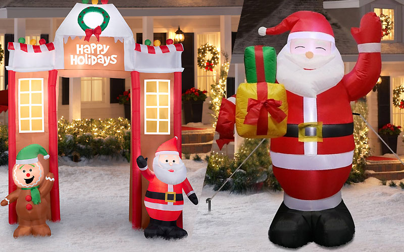 Up to 60% Off on Christmas Inflatables Under $50