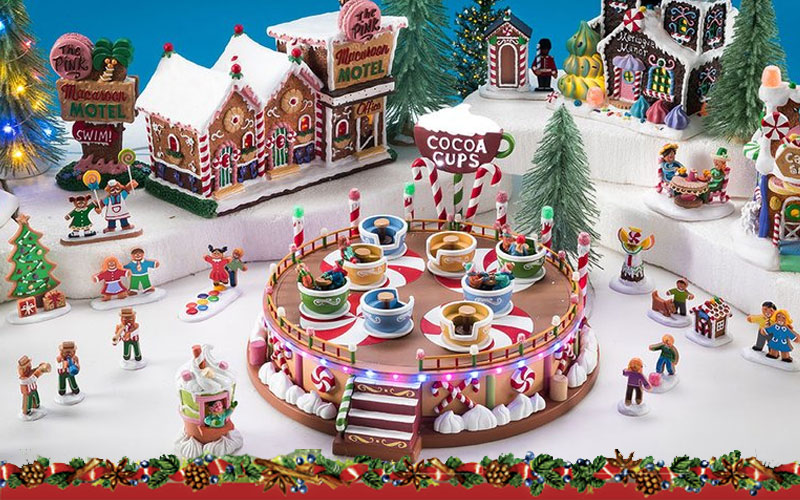Up to 30% Off on Christmas Village Decorations