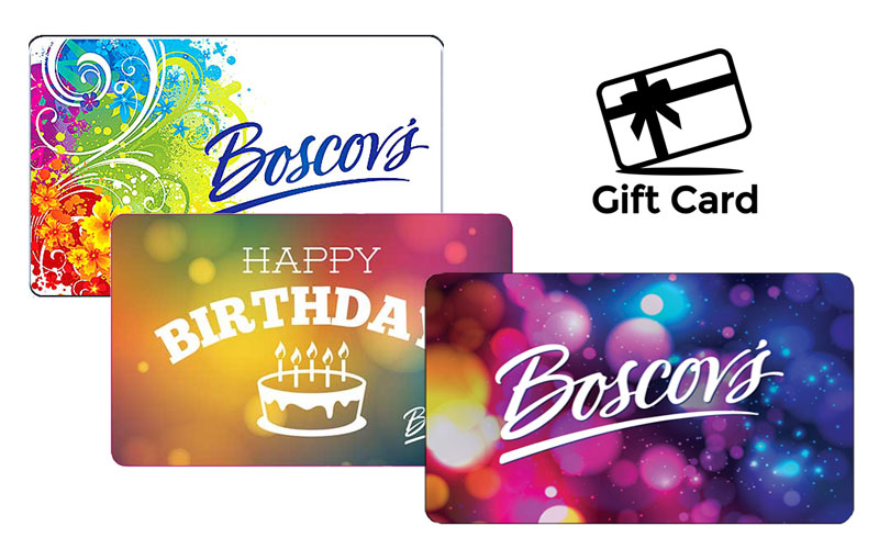 Boscovs Department Store Gift Cards