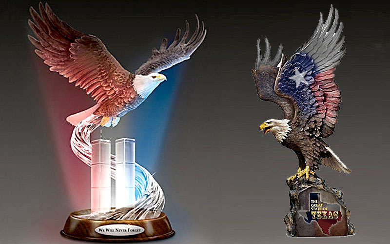 Bradford Exchange Eagle Sculptures for Sale