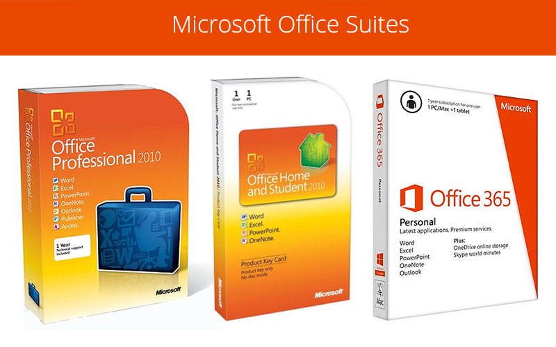 Up to 50% Off on Microsoft Office Suites