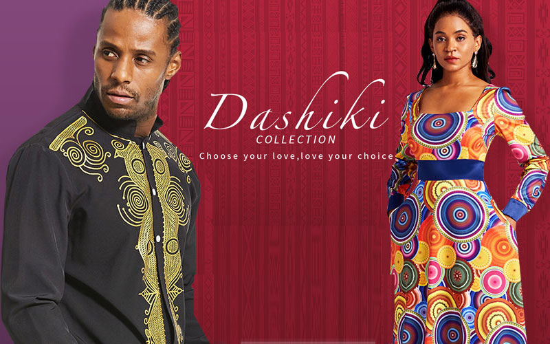 Up to 60% Off on Dashiki Collection