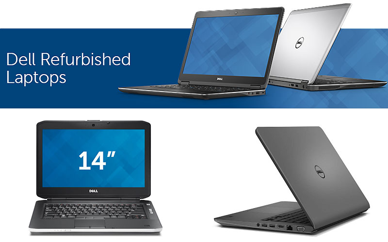 Up to 60% Off on Dell Refurbished Laptops