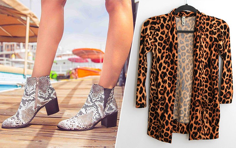 Up to 50% Off on Animal Print Clothing & Shoes