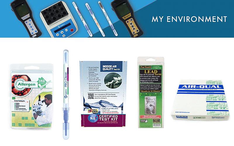 Buy Air & Water Quality Testing Kits