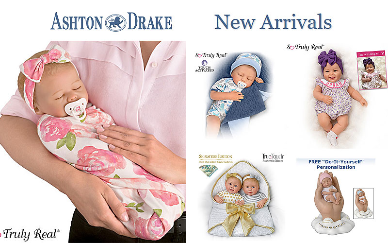 New Arrivals: Ashton Drake Collectible Dolls 2019