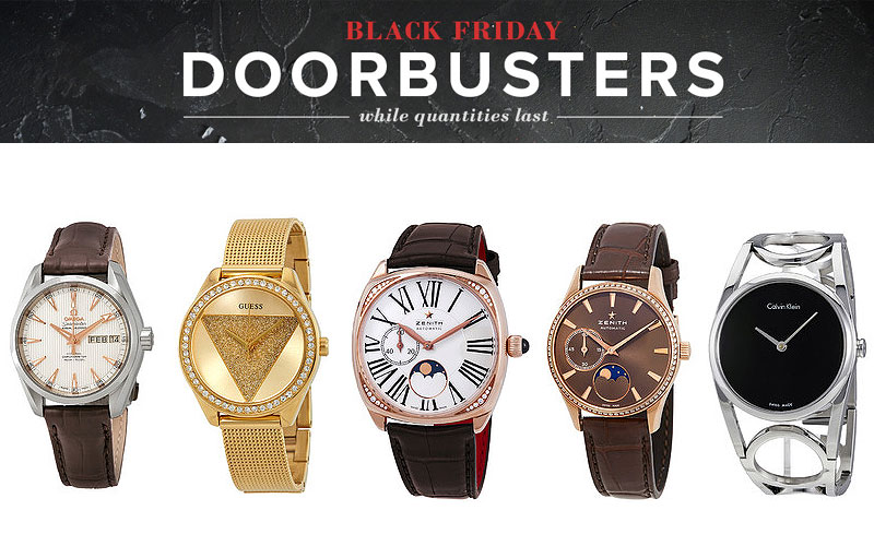 Black Friday Doorbusters! Up to 85% Off on Watches, Handbags & More