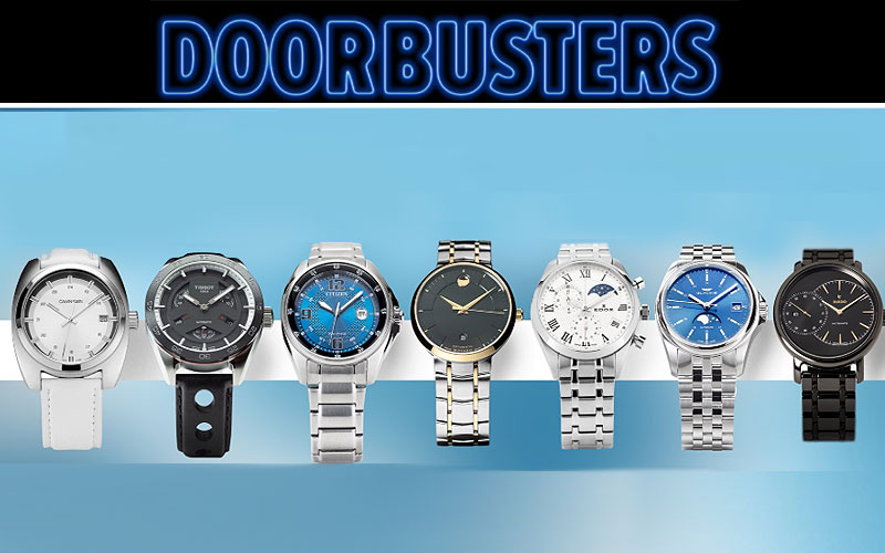 Ashford Doorbusters: Up to 90% Off on Watches