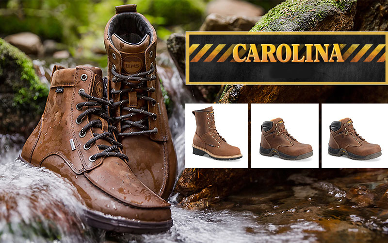 Carolina Waterproof Boots Starting from $89 Only
