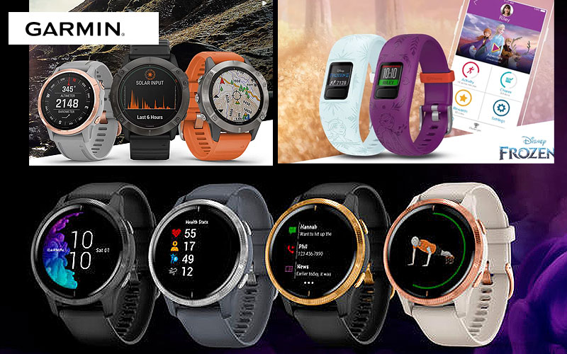 Up to 30% Off on Garmin Smartwatches, Trackers, GPS & More