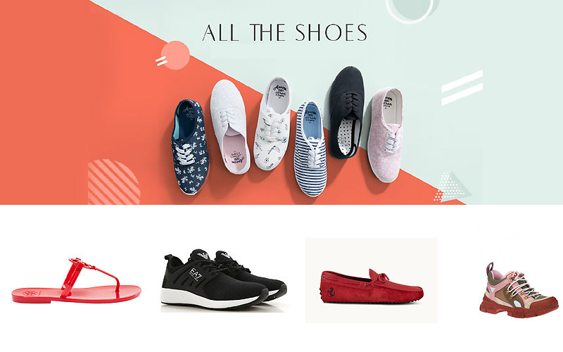 Jomashop Footwear Sale: Up to 60% Off on Top Brands