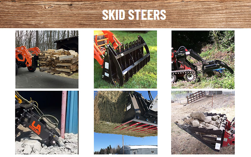 Up to 35% Off on Skid Steers, Pallet Fork & Accessories