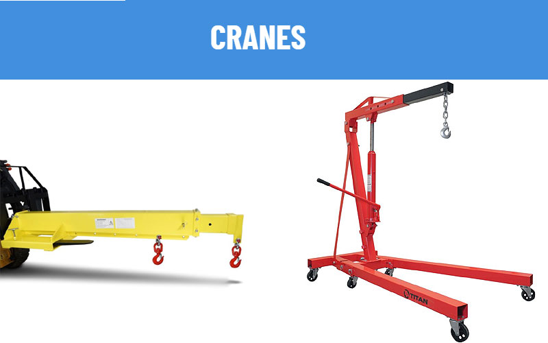 Industrial Cranes & Equipment at Discount Price