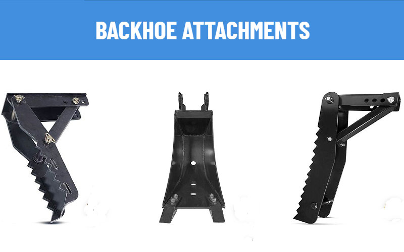 Backhoe Attachment for Skid Steer on Sale