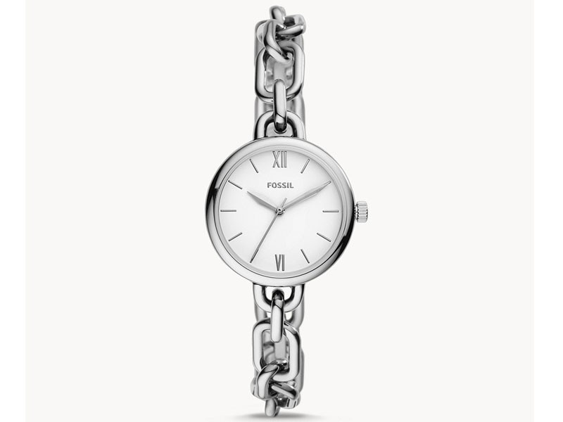 Fossil Embry Three-Hand Stainless Steel Watch For Women