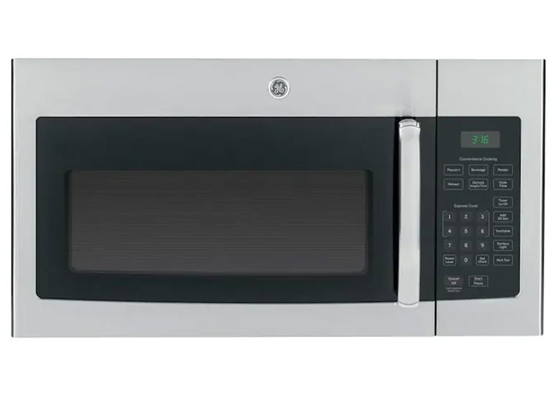 GE 1.6-cu ft Over-the-Range Microwave Stainless Steel