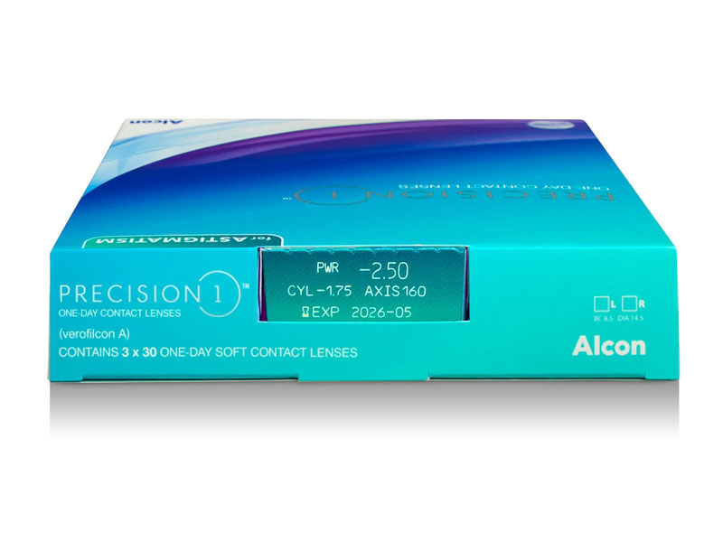 Precision 1 For Astigmatism 90 Pack Contact Lens