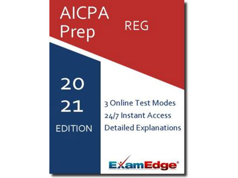 AICPA REG Practice Tests & Test Prep By Exam Edge