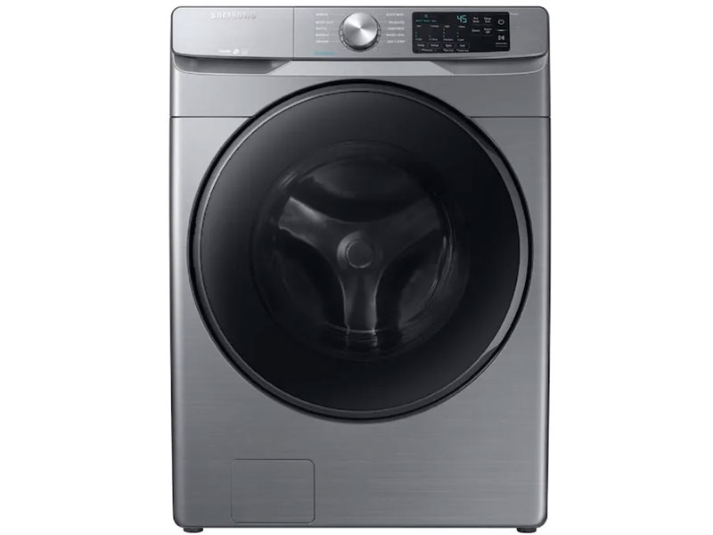Samsung 4.5-cu ft High Efficiency Stackable Steam Cycle Front-Load Washer